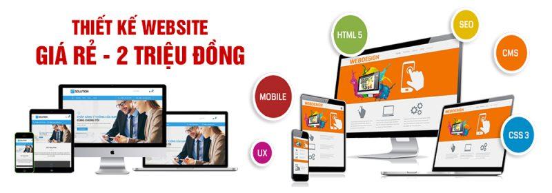 Thiết kế website giá rẻ tại Phủ Lý
